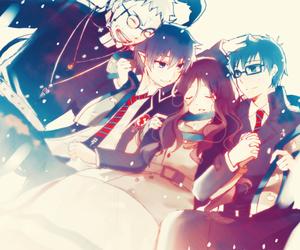 anime, ao no exorcist, and family image