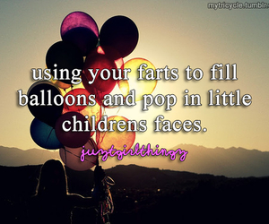 funny, balloons, and lol image
