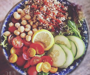 fitness, healthy food, and healthy life image