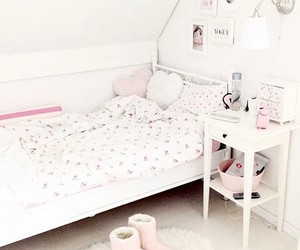 room, girly, and ikea image