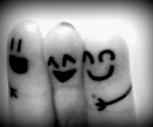 fingers, cute, and friends image
