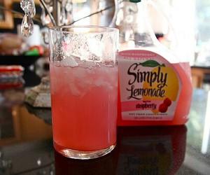 drink, lemonade, and pink image