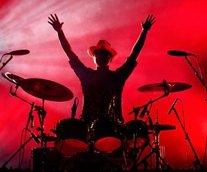 awesome, concert, and drums image
