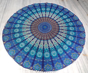 home decor, mandala, and tapestry image