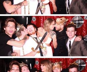 Taylor Swift, niall horan, and ed sheeran image
