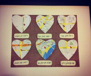 birthday, boyfriend, and map image