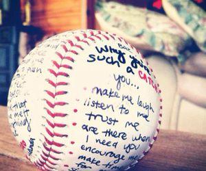 diy, gifts for him, and baseball gift image