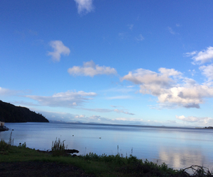 blue sky, nzwh, and lake image