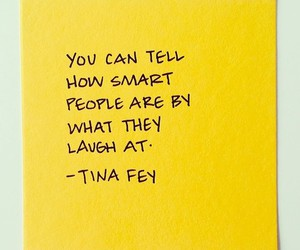 quotes, smart, and Tina Fey image