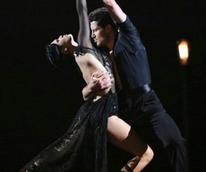 rumer willis, dancing with the stars, and val chmerkovskiy image