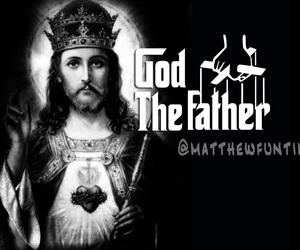 jesus, god, and goodfather image
