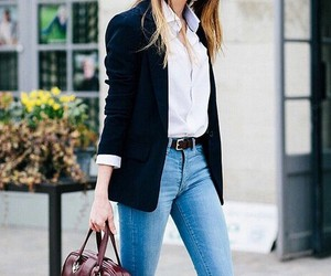 fashion, girly, and jeans image