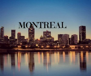 travel, city, and montreal image