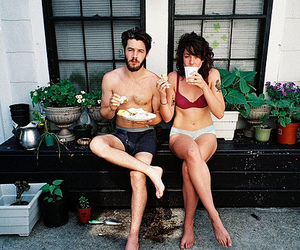couple, boy, and breakfast image