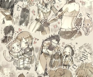 fairy tail, levy, and Lucy image