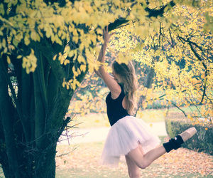 autumn, balet, and ballet image