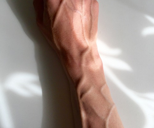 arm, hand, and pale image