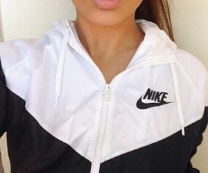 nike, black, and lips image