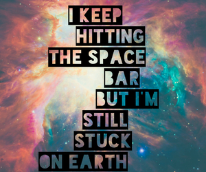 cool, funny, and galaxy image