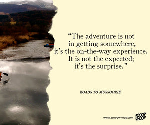 adventure, quote, and surprise image