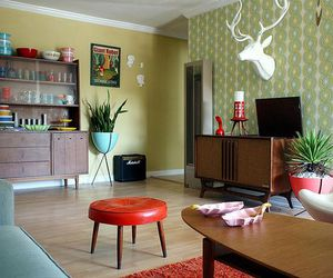 50's, apartment, and decor image