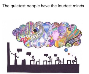 mind, people, and quiet image