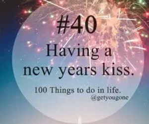kiss, new year, and life image