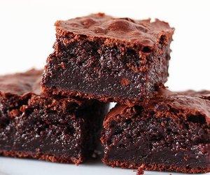 food, brownie, and chocolate image