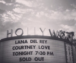 lana del rey, concert, and hollywood image