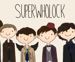 supernatural, sherlock, and doctor who image