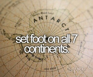 travel, before i die, and continents image