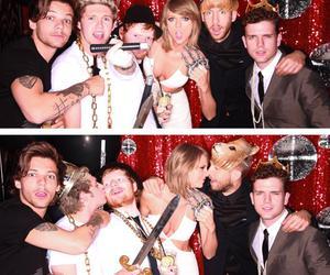 Taylor Swift, ed sheeran, and niall horan image