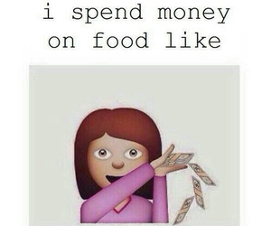 food, money, and funny image