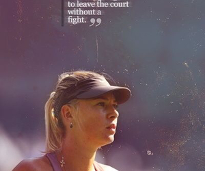 Maria Sharapova and tennis image