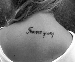 forever, tatto, and young image