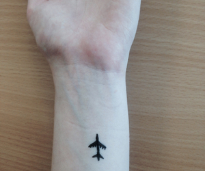 airplane, arm, and drawing image