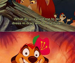disney, timon, and funny image