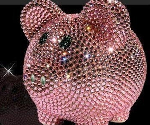 pink and piggy image