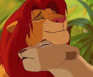 the lion king, disney, and simba image