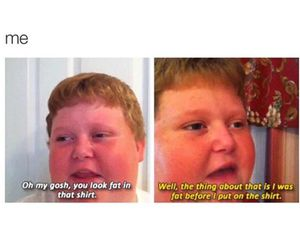 clothes, fat, and fat kid image