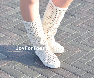 boho, boots, and women image