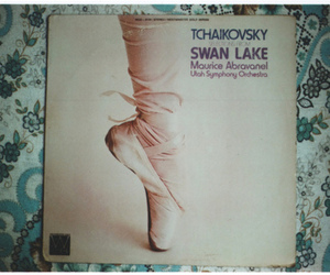 ballet, swan lake, and vintage image