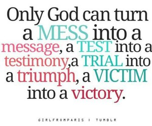 god, quote, and victory image