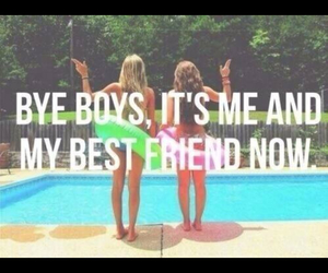 summer, friends, and boys image