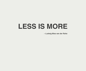 quote, less, and more image