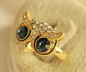 owl, ring, and diamond image