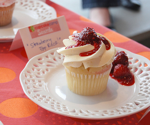 cupcake, delicious, and photography image