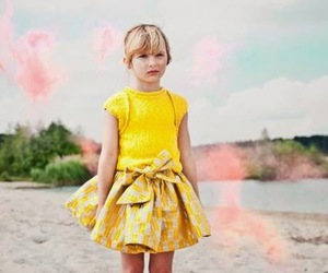 children, girl, and fashion image