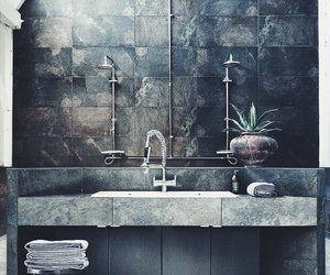 bathroom, home, and decoration image