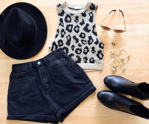 boots, bracelet, and hat image